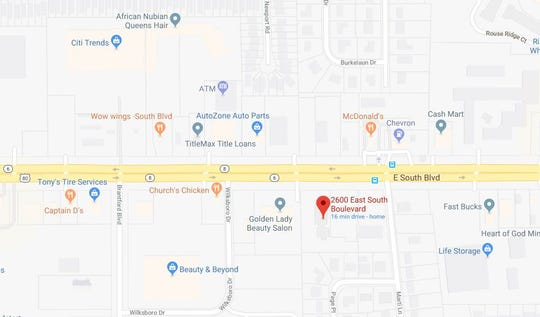 A car chase involving a man fleeing from Troy police ended on East South Boulevard