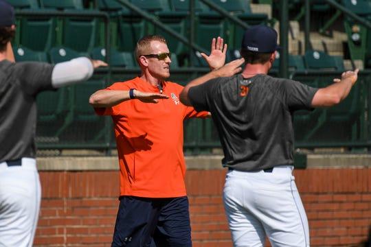 First-year Auburn strength and conditioning coach Chris Joyner.