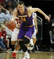 Lipscomb's Garrison Mathews is the leading scorer in the Atlantic Sun Conference.