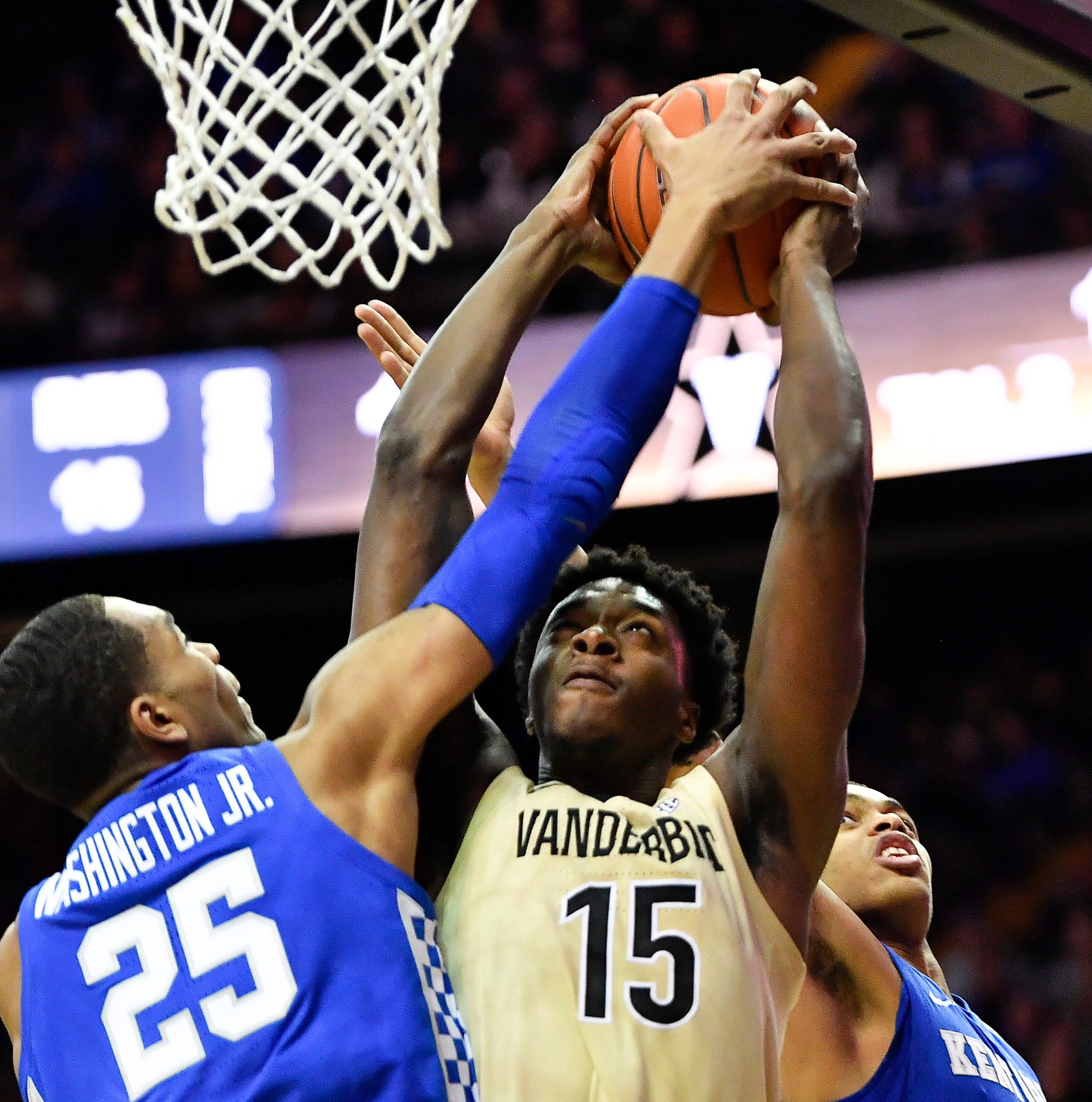 Kentucky basketball vs. Vanderbilt was a contender vs. a clown show