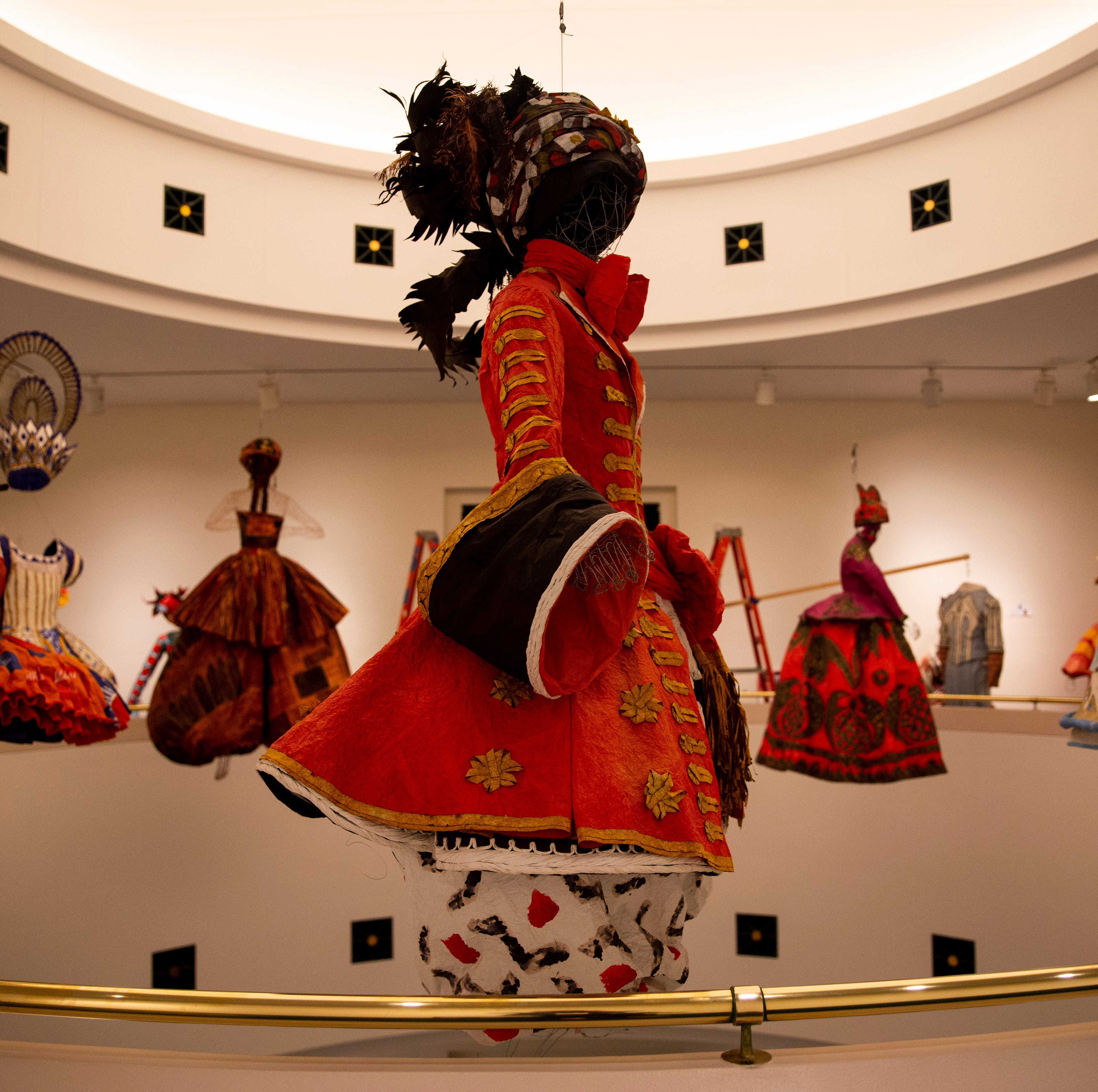 The subject steps out of the painting: Isabelle de Borchgrave costumes on display at Artis—Naples