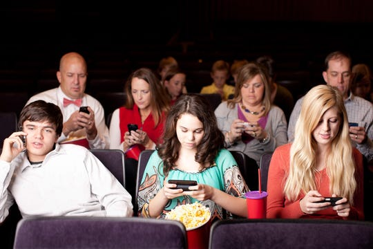 The next time you go to a play or movie, try paying attention to your companions during intermission instead of calling, texting, checking your emails.