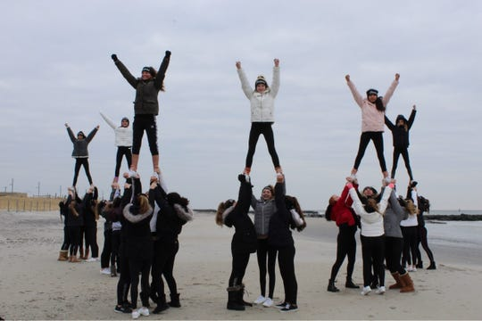 The Naples Bears Division 16 Level 2 cheerleading squad won the championship at the Youth Cheer and Dance Alliance (YCADA) global competition in Atlantic City, New Jersey, on January 20.