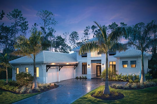 The Muirfield V is one of four inventory homes Stock Signature Homes has completed in Quail West.