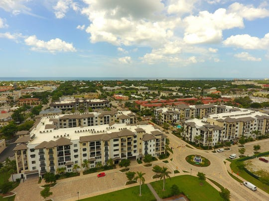 Just over a dozen Phase III residences remains available at Naples Square.