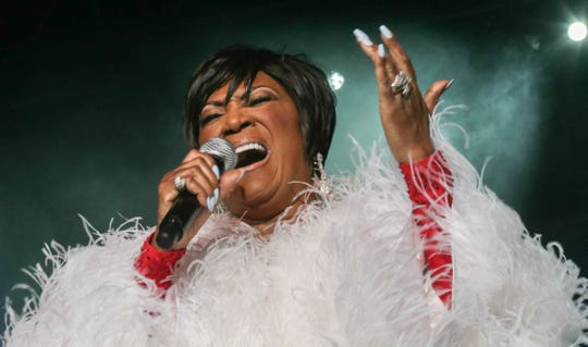 "Patti LaBelle — known for her frisky 1974 hit ""Lady Marmalade"" — performs Feb. 11, 2019, in Fort Myers, Fla."