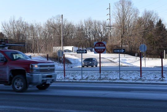 The Licking County Commissioners will consider a petition from the Ohio Department of Transportation to close the River Road connection with westbound Ohio 16, north of the state route, near the entrance drive to Granville Golfland.
