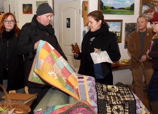 Representatives from the French Consulate visit NuNu's in Arnaudville