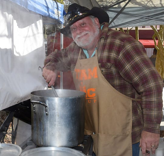 The smell of gumbo filled the air Saturday in downtown Opelousas as the annual Gumbo Cook-Off was held near Frank's Po-Boys in historic downtown Opelousas.
