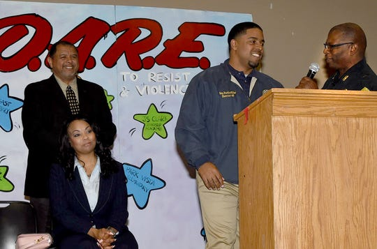 Citywide DARE graduation ceremony held recently at the Opelousas Civic Center.