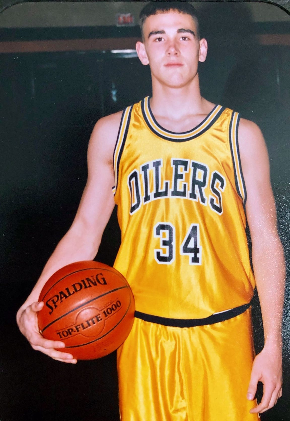 Matt LaFleur played basketball at Mount Pleasant High School.