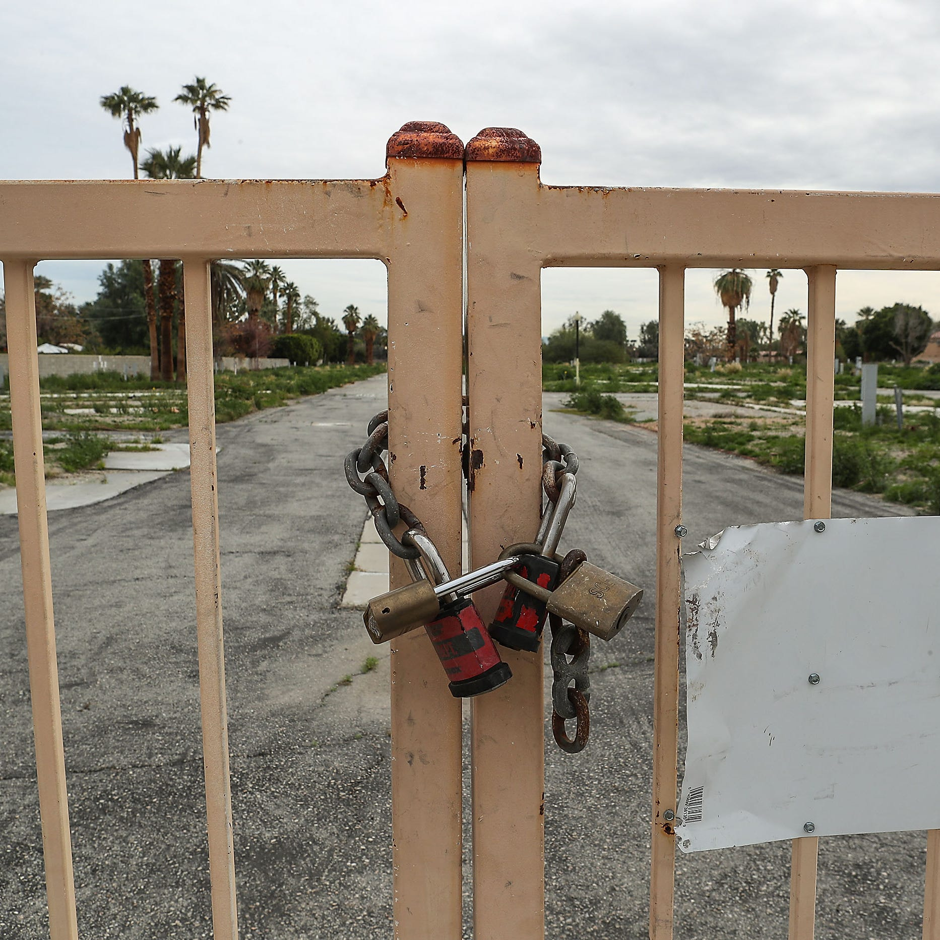 A now-vacant mobile home park has cost Rancho Mirage $11 million over the past ten years