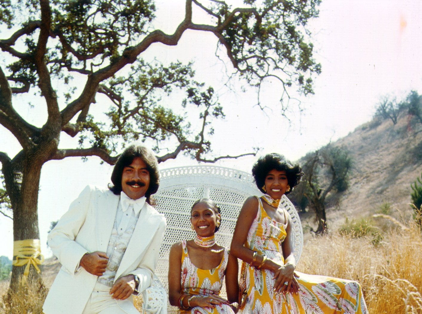 Tony Orlando and Dawn at the height of their '70s popularity: Orlando (from right), Telma Hopkins and Joyce Vincent Wilson.