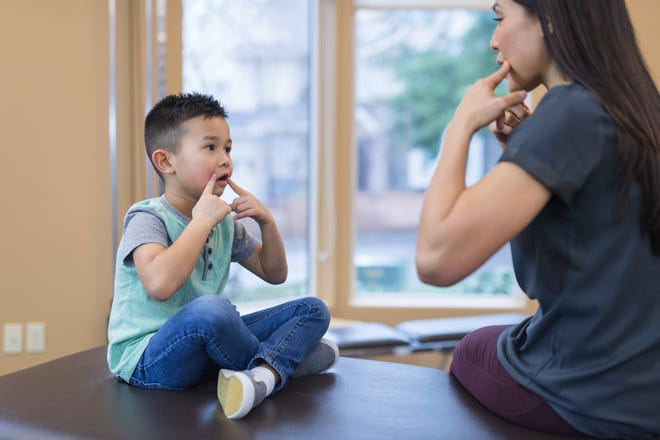 If speech and language issues go unaddressed, a child could face behavior and social problems with age.