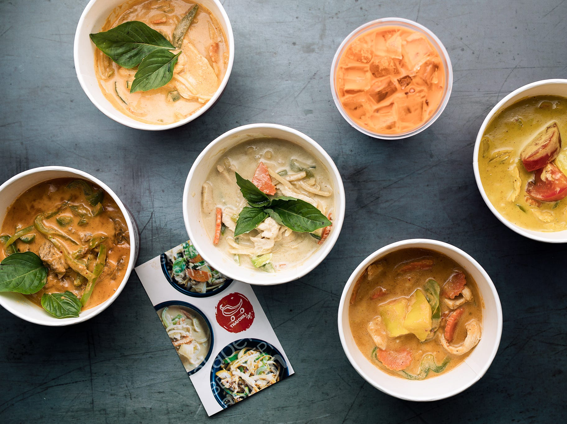 Thai Chili 2 Go serves Thai Hot and Sour Soup, Pad Thai, Drunken Noodles, Thai Fried Rice, Yellow Curry, Red Curry, Panang Curry and more.