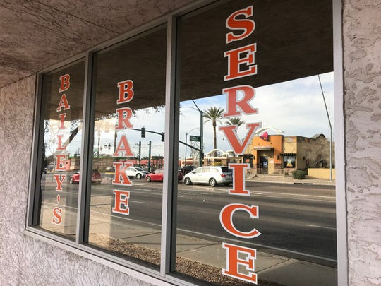 An apartment complex developed by Chicanos Por La Causa is set for construction on the land that housed the old Bailey' Brake Service at Main Street and Country Club Drive in Mesa, AZ.