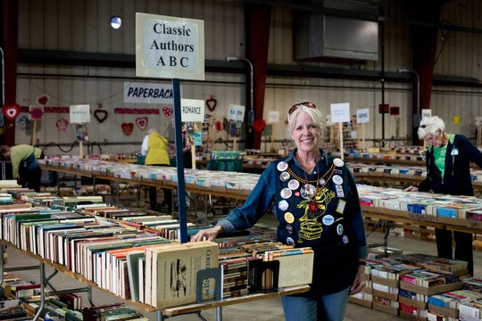 The Volunteer Nonprofit Service Association (VNSA) is an all-volunteer organization that collects books and media from drop boxes, retail locations and private donors.