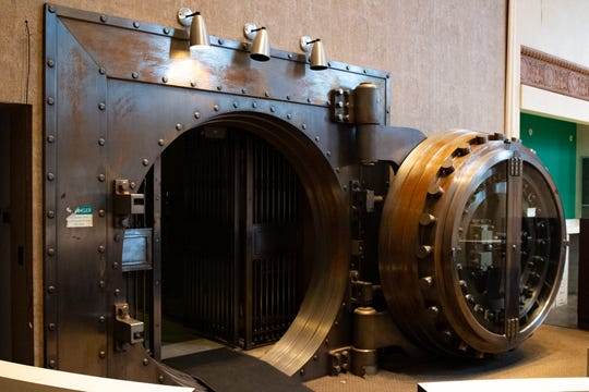 "The vault itself will remained closed once ""The Treasury"" opens."