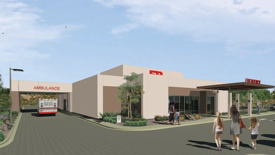 A rendering of Northern Nevada Medical Center's new freestanding emergency department in northwest Reno. The project broke ground Jan. 31, 2019 and will open in early 2020.