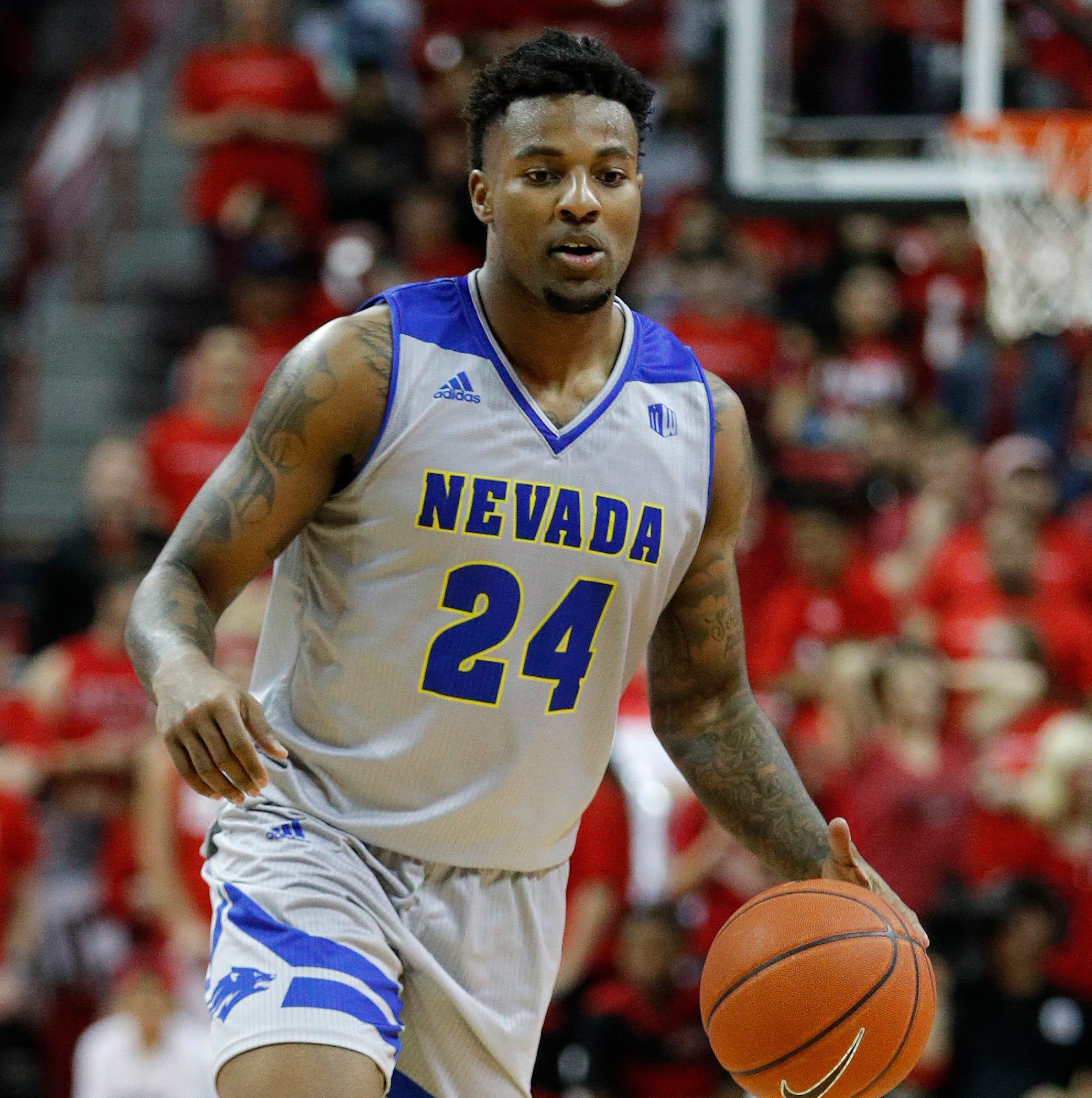 Nevada's Jordan Caroline out for Mountain West tournament semifinal vs. SDSU basketball