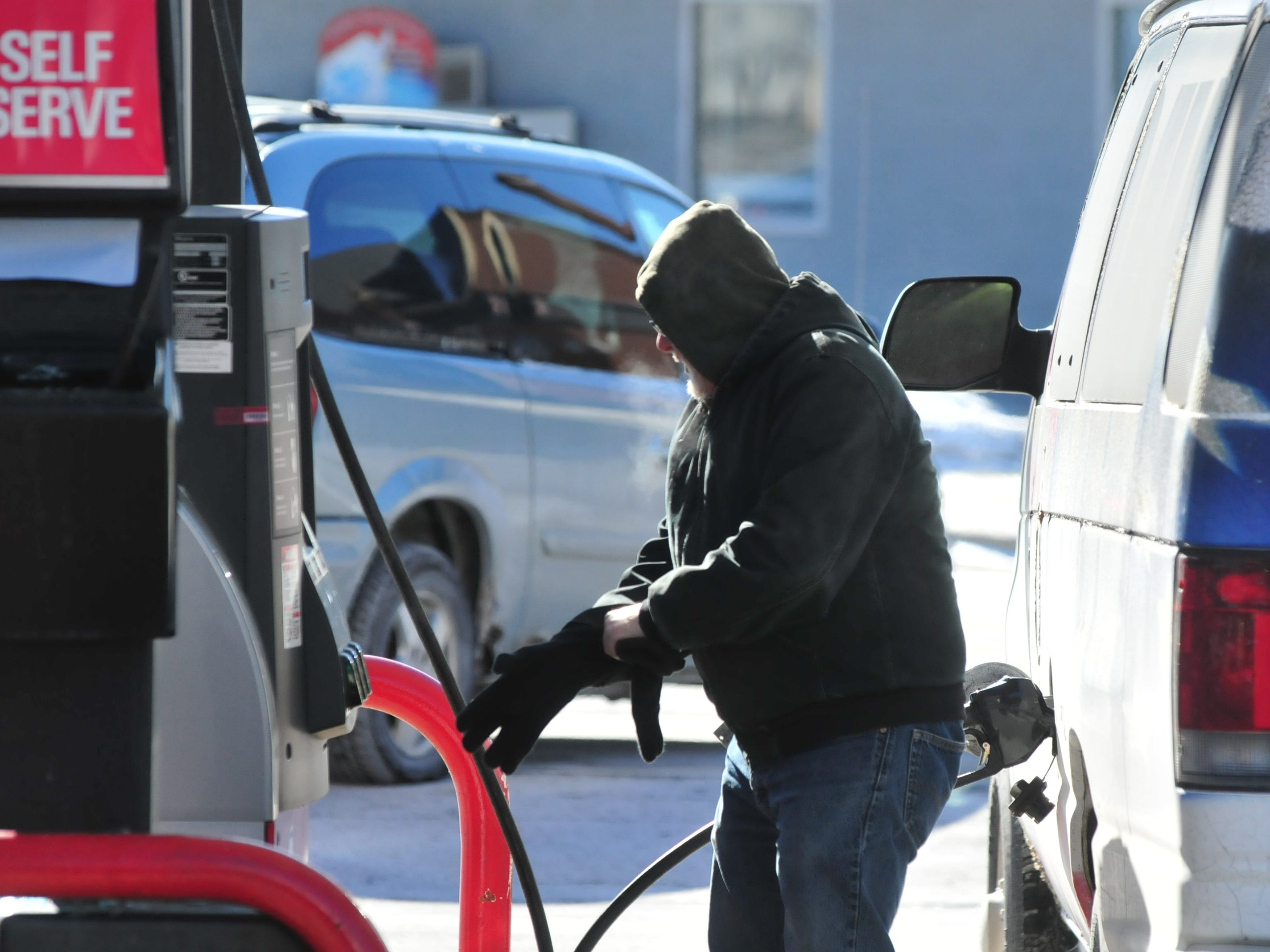 Even routine outdoor tasks, such as pumping gas, required Wayne County residents to bundle up Wednesday because of dangerous temperatures and wind chills.