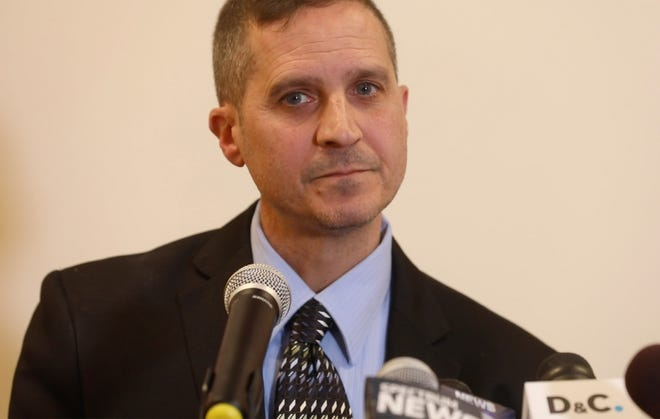 Webster Central School District Superintendent Carmen Gumina talks about the school initial response to allegations of rape by a teacher and coach that has since been dismissed.