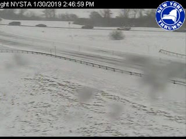 Rochester weather: Whiteout conditions lead to 21-car crash on Thruway