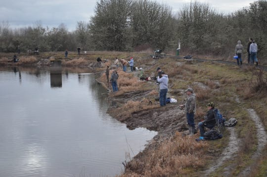 E.E. Wilson Pond at E.E. Wilson Wildlife Area has been stocked with trout this week. Note that you need a Wildlife Area Parking Permit to visit there.