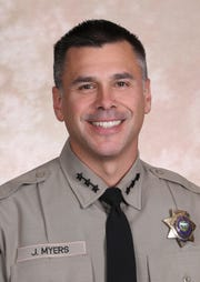 Marion County Sheriff Jason Myers