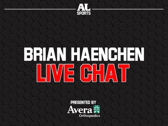Chat sports with Brian Haenchen on Thursdays!
