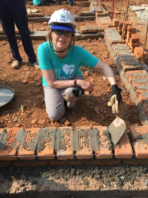 Dell Rapids resident Marli Erickson traveled to Nepal in December as part of a Habitat for Humanity trip.