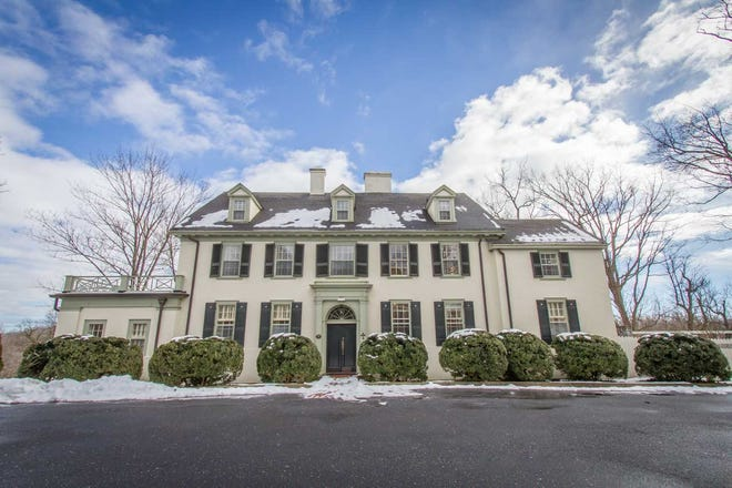 This two and a half story historic residence near Mary Baldwin University in Staunton was the anchor mansion for Waverley Green Townhouses. It was divided into four apartments and is listed for $695,000. Built in 1921, the property could be returned to a single family home.