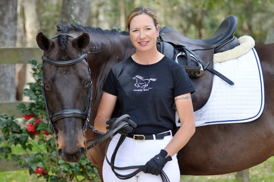 Cobra was a wild mustang from Nevada when Tallahassee horse trainer Marsha Hartford-Sapp first met him in 2010.