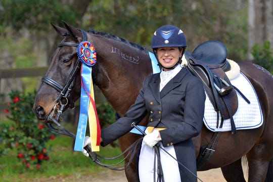 On Jan. 12, Marsha Hartford-Sapp was in West Palm Beach for the USEF awards ceremony with Cobra, who the National Horse of the Year award.