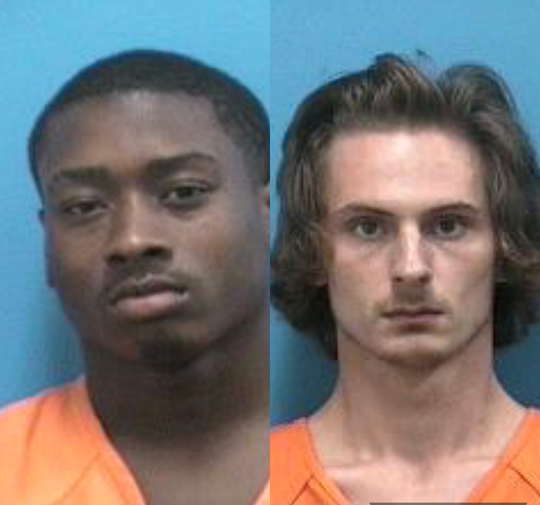 Jamarcus Moss (left) and Tristan Bailes (right)