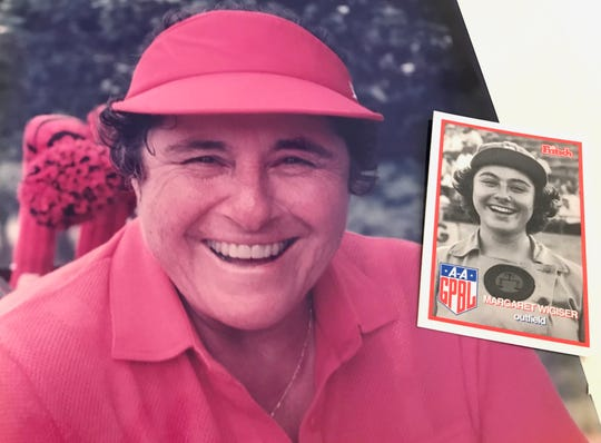 Margaret Wigiser, of Hobe Sound, was an avid golfer. She won many competitions at Heritage Ridge, where she lived for almost 30 years. Wigiser, who was a member of the 1945 champions, the Rockford Peaches, died Jan. 19. She was 94.