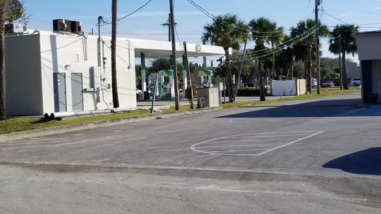 The alleged robbery and car theft occurred in the parking lot of the business center behind the BP gas station on 20th Street in Vero Beach.
