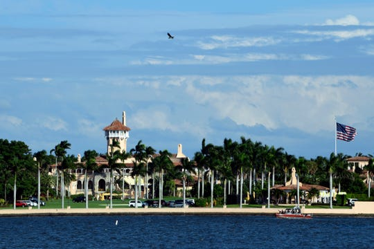 Senate Democrats have asked the FBI to assess Mar-a-Lago facilities and equipment President Donald Trump uses to access classified information while staying at his luxury country club in Florida.