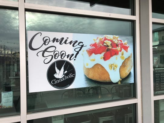 El Paso's first Cinnaholic offers a gourmet cinnamon roll which people can top with a variety of frostings and toppings.