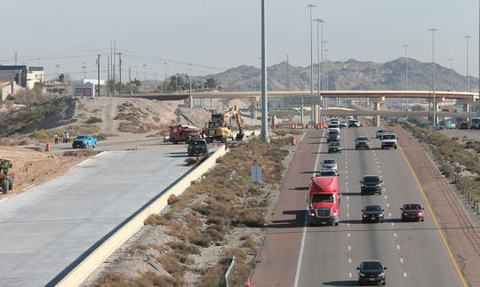The Resler Drive exit from westbound Interstate 10 is now closed for approximately three months as workers tie in new collector-distributer lanes between Sunland Park Drive and Mesa Street.