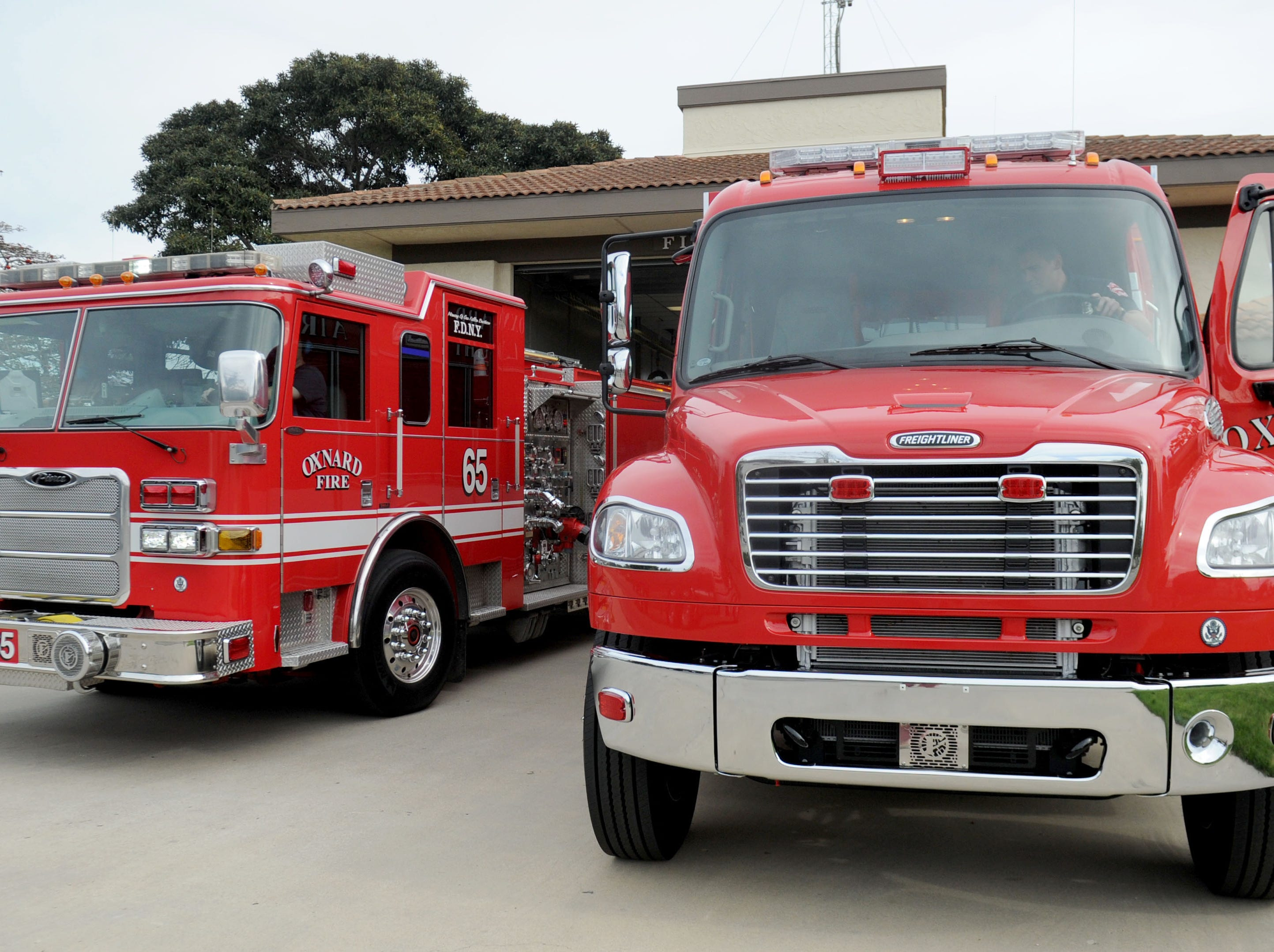 Light and Air 65, right, is based at Oxnard Fire Department Station No. 5.