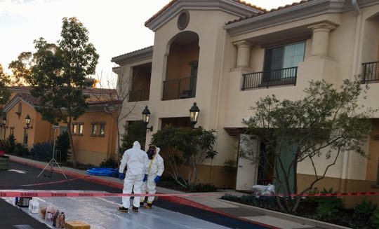 An Oxnard man was arrested Tuesday on suspicion of manufacturing drugs after a suspected lab was found in the boiler room of the Goleta hotel where he worked, authorities said.