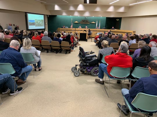 Residents of the Wood Ranch section of Simi Valley turned out in force Monday night to urge the City Council to reject a planned memory care facility in an open space section of their neighborhood. They got their wish.