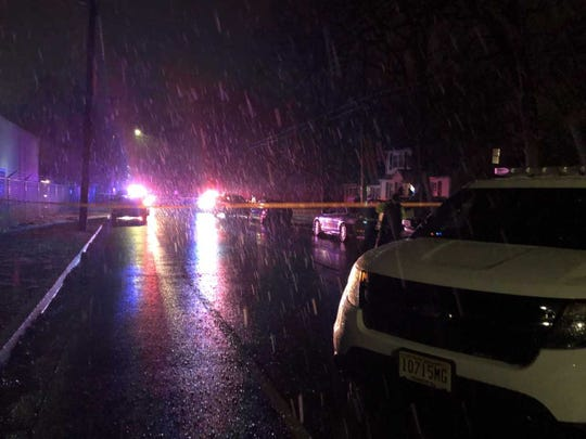 Police investigate a reported shooting on the 700 block of Oxford Street in Vineland.