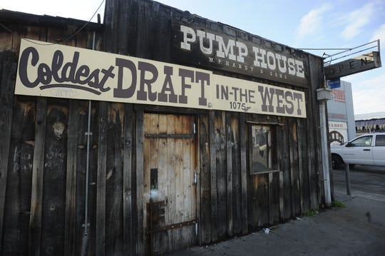 A fight broke out at Visalia's Pump House bar.