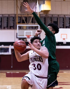 Mt. Whitney's Jaedyn Pineda, 30, will represent the Pioneers in Saturday's Tulare/Kings All-Star basketball game at COS' Porter Field House.