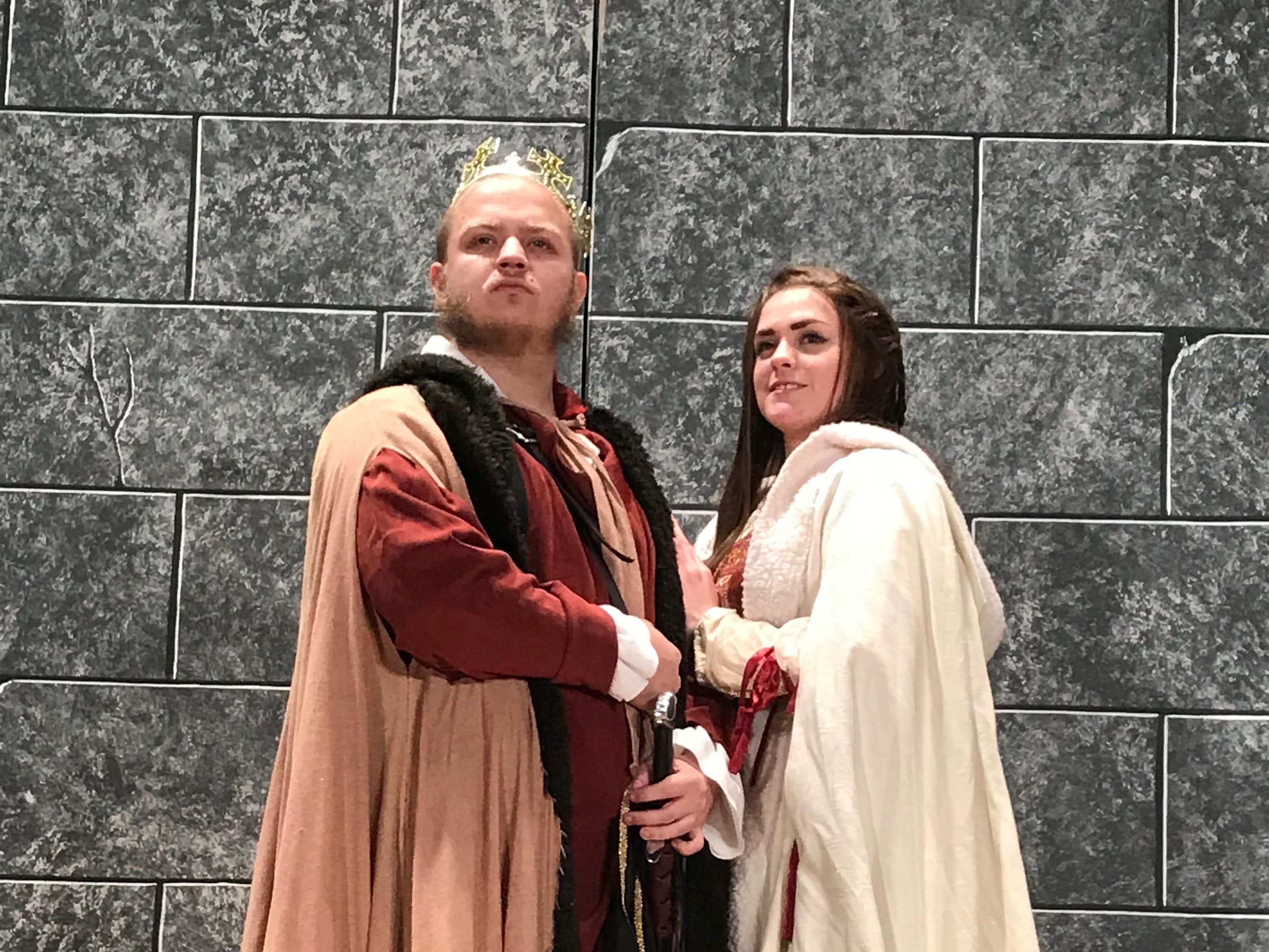 """Erik Heath and Tiffany Yturralde star in """"Macbeth."""""""