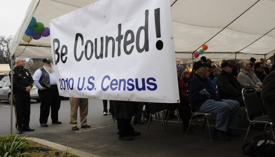 Prospective workers and employees gathered for an open house at the Visalia office on South Mooney Boulevard for the 2010 Census in this Jan. 6, 2010 file photo.