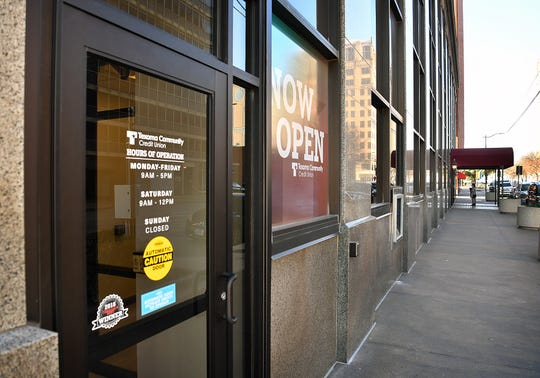 Texoma Community Credit Union opened its third location in Wichita Falls in the City National Building downtown this week.