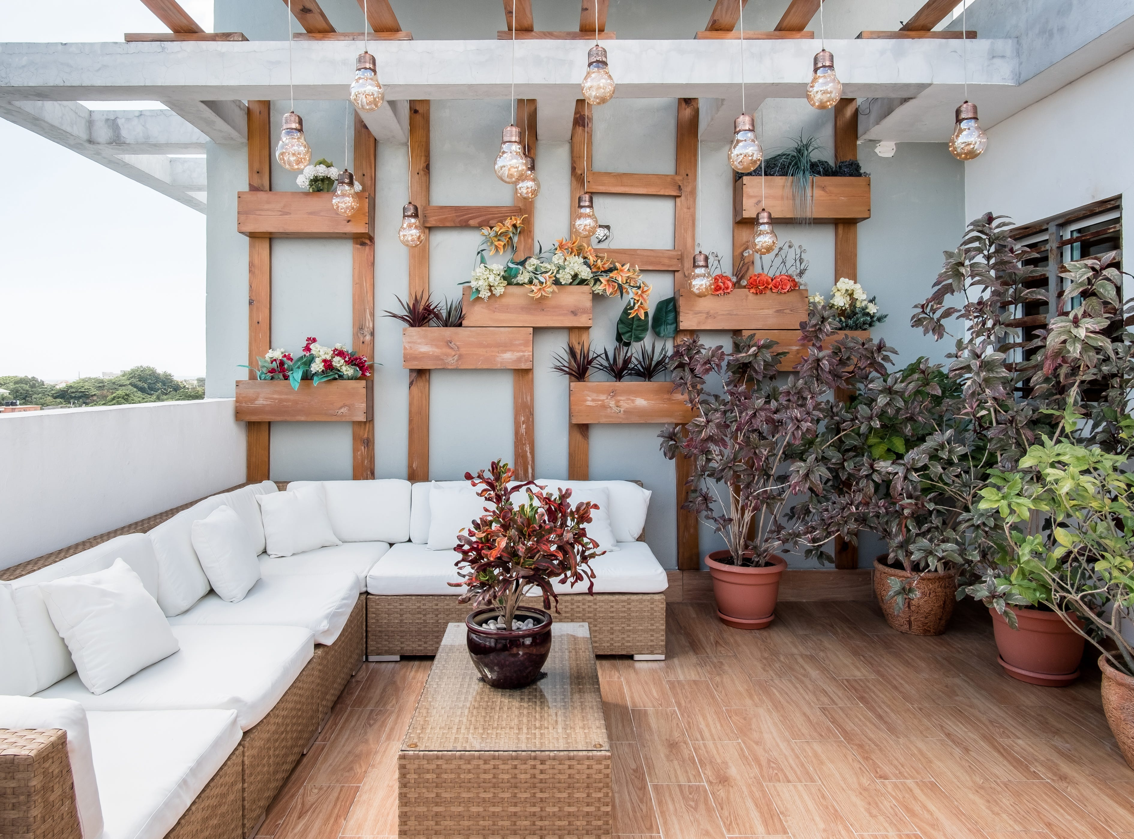 A studio apartment with a private terrace in Santo Domingo in the Dominican Republic